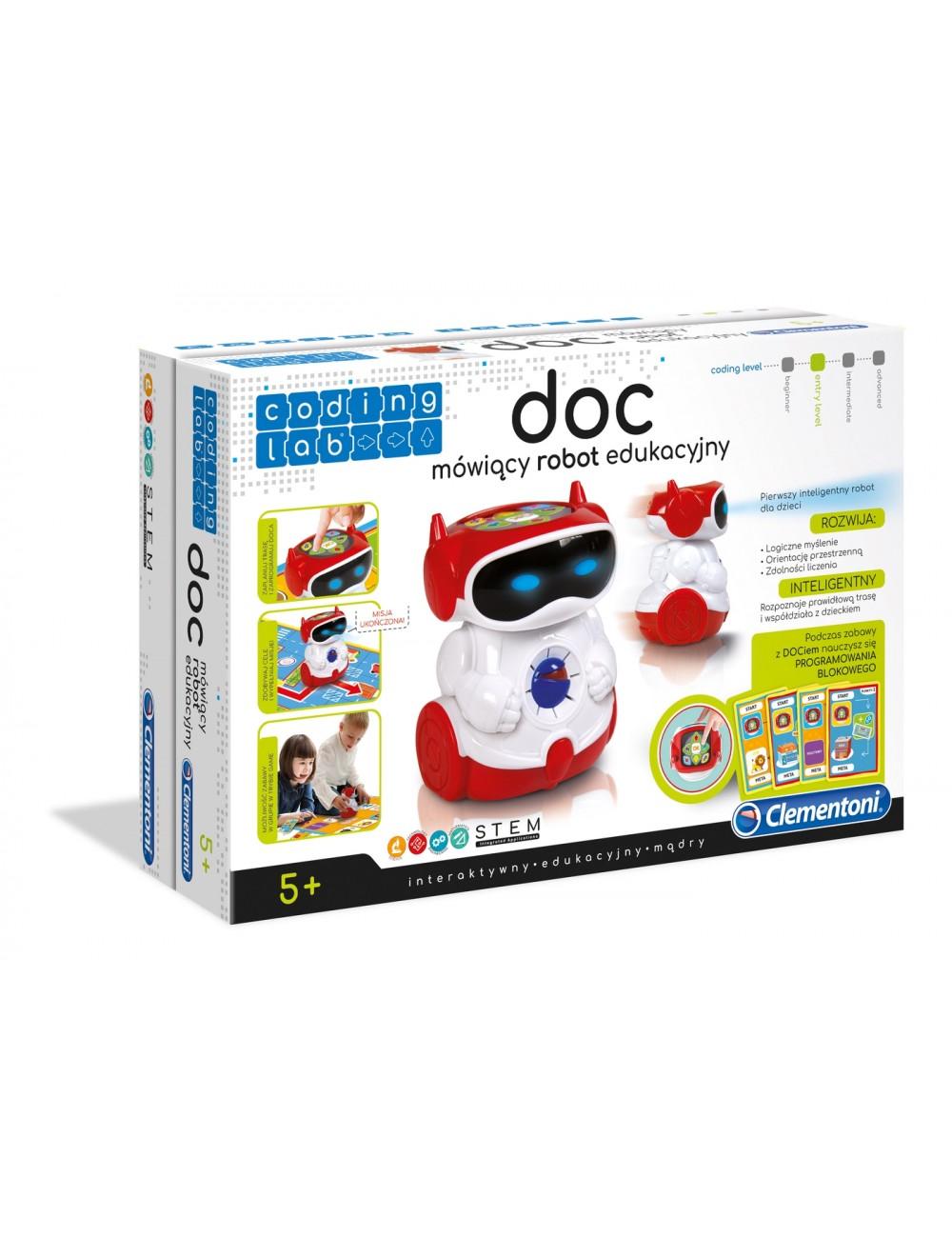 Super Doc mówiący robot edukacyjny 50640