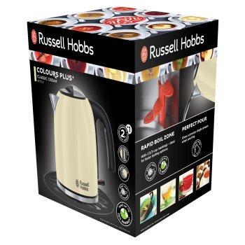 RUSSELL HOBBS Czajnik ze stali nierdzewnej kremowy 1,7 l