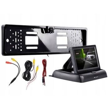 TRACER Zestaw cofania kamera z monitorem S1