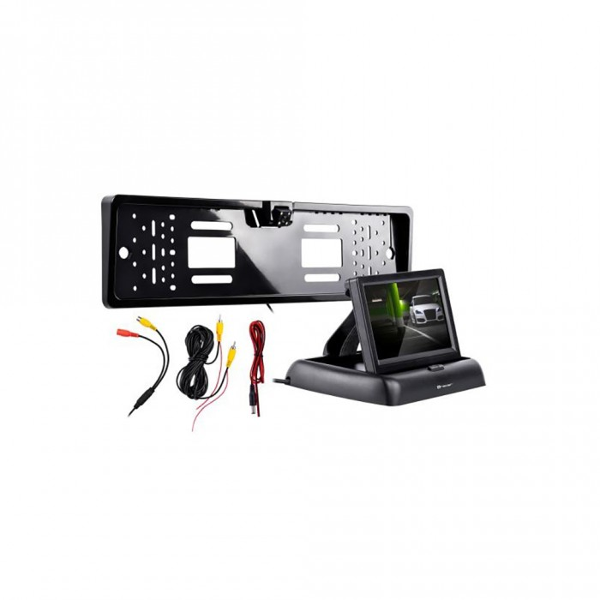TRACER Bezprzewodowy zestaw cofania kamera z monitorem S1 Wireless