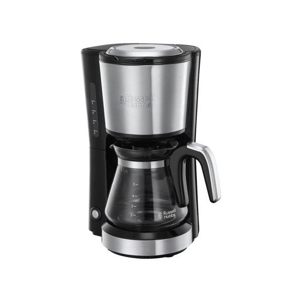 RUSSELL HOBBS Ekspres do kawy przelewowy ze stali nierdzewnej 650 W
