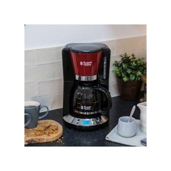 RUSSELL HOBBS Ekspres do kawy przelewowy czerwony