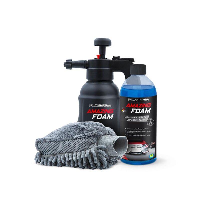 Zestaw do czyszczenia samochodu Platinum Amazing Foam