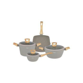 HUSLA 7-elementowy zestaw naczyń kuchennych HYGGE