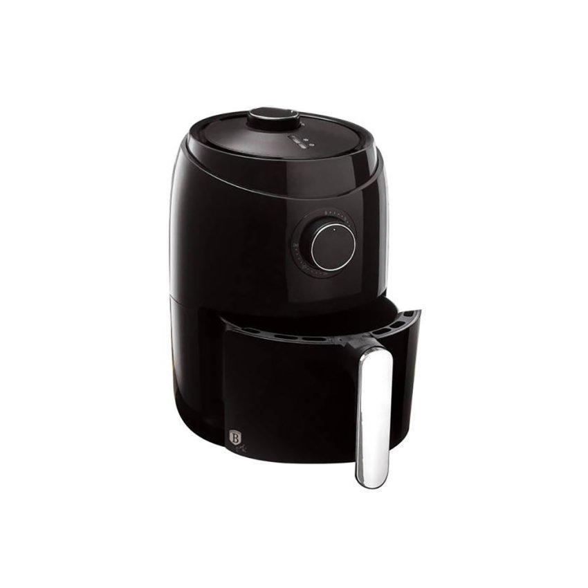 BERLINGER HAUS Mini frytownica beztłuszczowa, Black Silver Collection