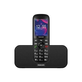 Telefon dla seniora ze stacją 3w1