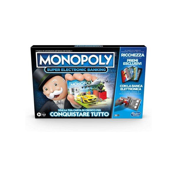 Gra MONOPOLY Super Electronic Banking E8978 /6
