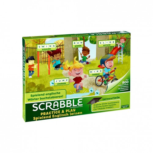 Gra SCRABBLE PRACTICE and PLAY GGB32 /6