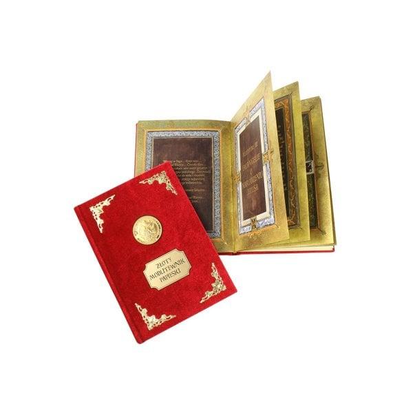 Złoty Modlitewnik Papieski - Z okazji 5 rocznicy kanonizacji Jana Pawła II