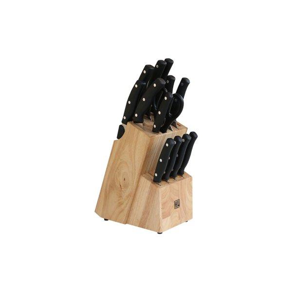 Komplet noży kuchennych + Gratis stojak