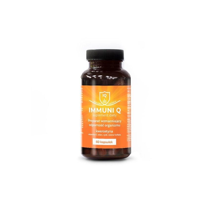 Suplement diety z kwercetyną Immuni Q 1 szt. 60 kaps / 2 szt. 120 kaps