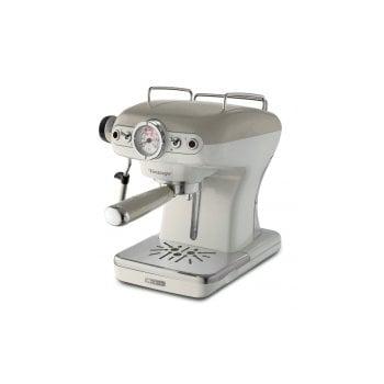 Ciśnieniowy ekspres kolbowy Espresso Vintage, beżowy