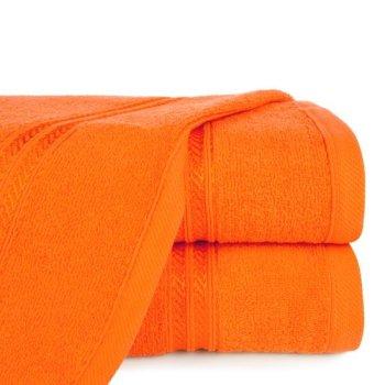 Ręcznik z żakardową błyszczącą bordiurą o gramaturze 450 g/m2, 70x140 cm