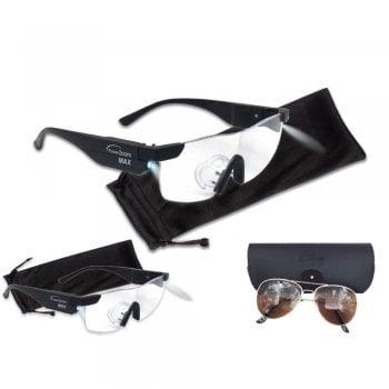Power Zoom Max – okulary powiększające ze światłem LED