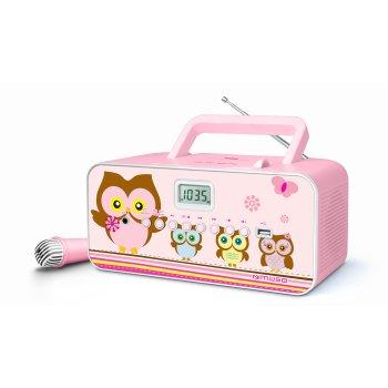 Stylowy boombox dla dzieci MUSE M-29 KP