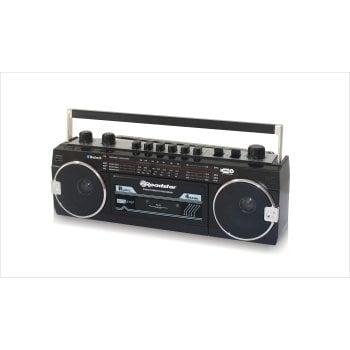 Radio retro / odtwarzacz kaset z analogowym tunerem AM / FM RCR-3025