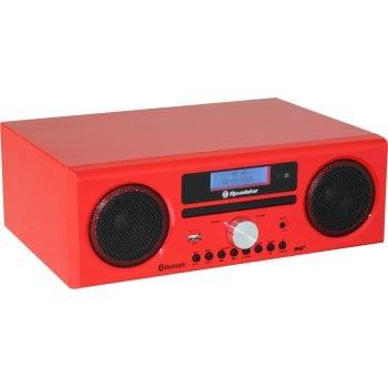Radio HRA-9D z bluetooth czerwony