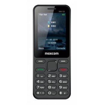 CLASSIC MM139 czarny telefon komórkowy
