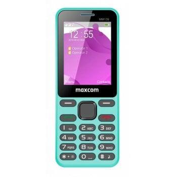 CLASSIC MM139 miętowy telefon komórkowy