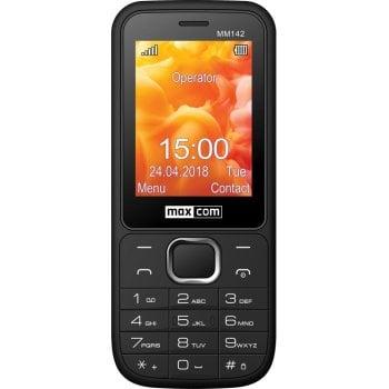 CLASSIC MM142 czarny telefon komórkowy
