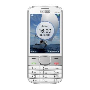 CLASSIC MM320 biały telefon komórkowy