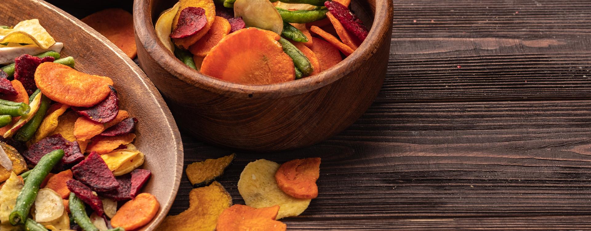 Domowe czipsy warzywne - zróbcie to sami!