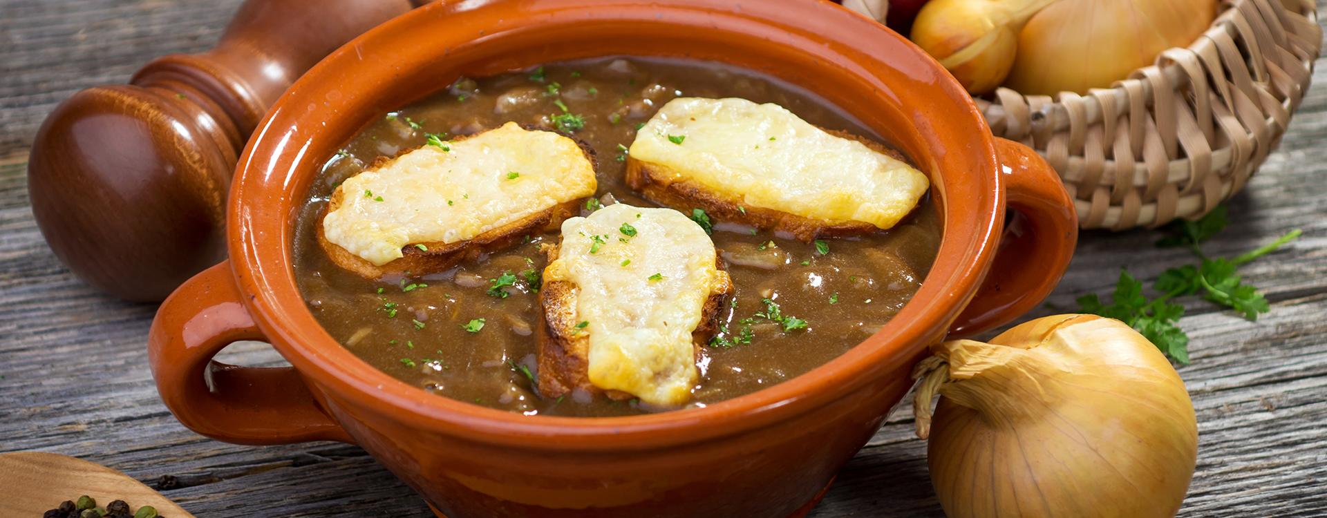Francuska zupa cebulowa - przepis