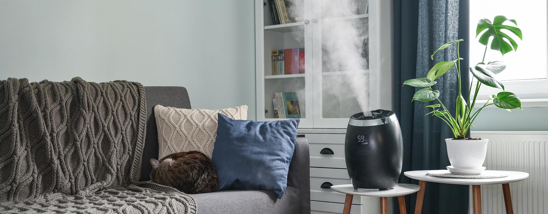 Ultradźwiękowy nawilżacz powietrza - co to jest i jak działa?