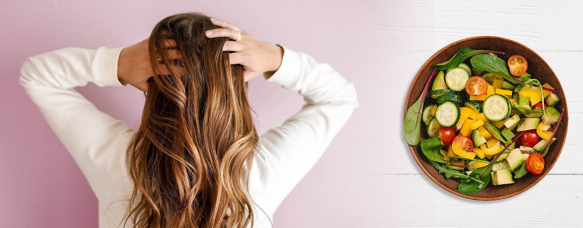 Czy dieta powstrzyma wypadanie włosów?