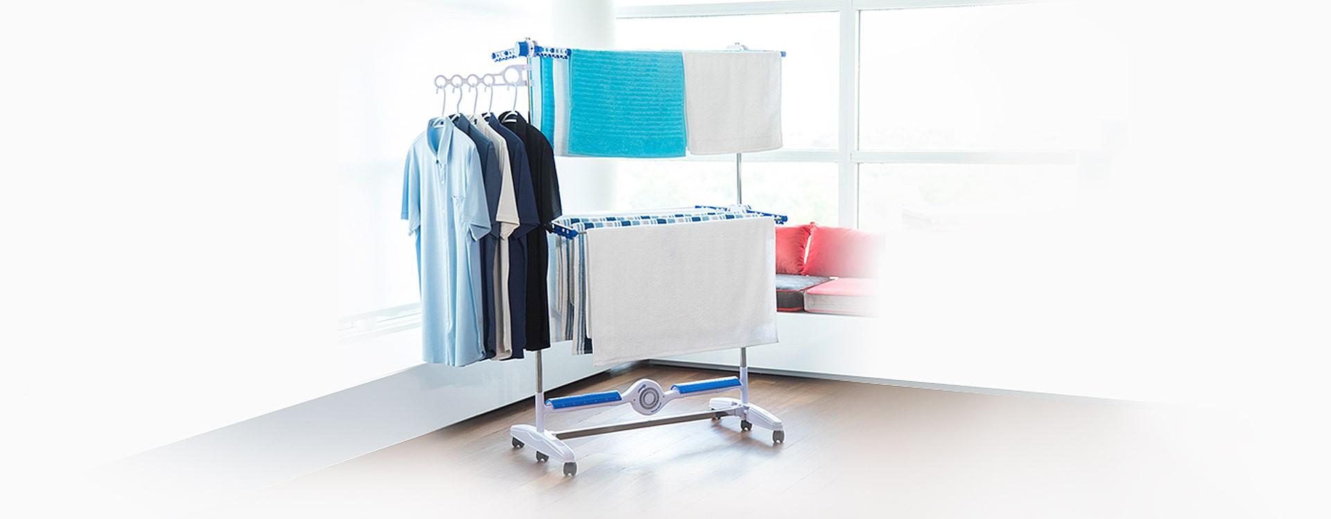 Jak suszyć pranie w niewielkim mieszkaniu?