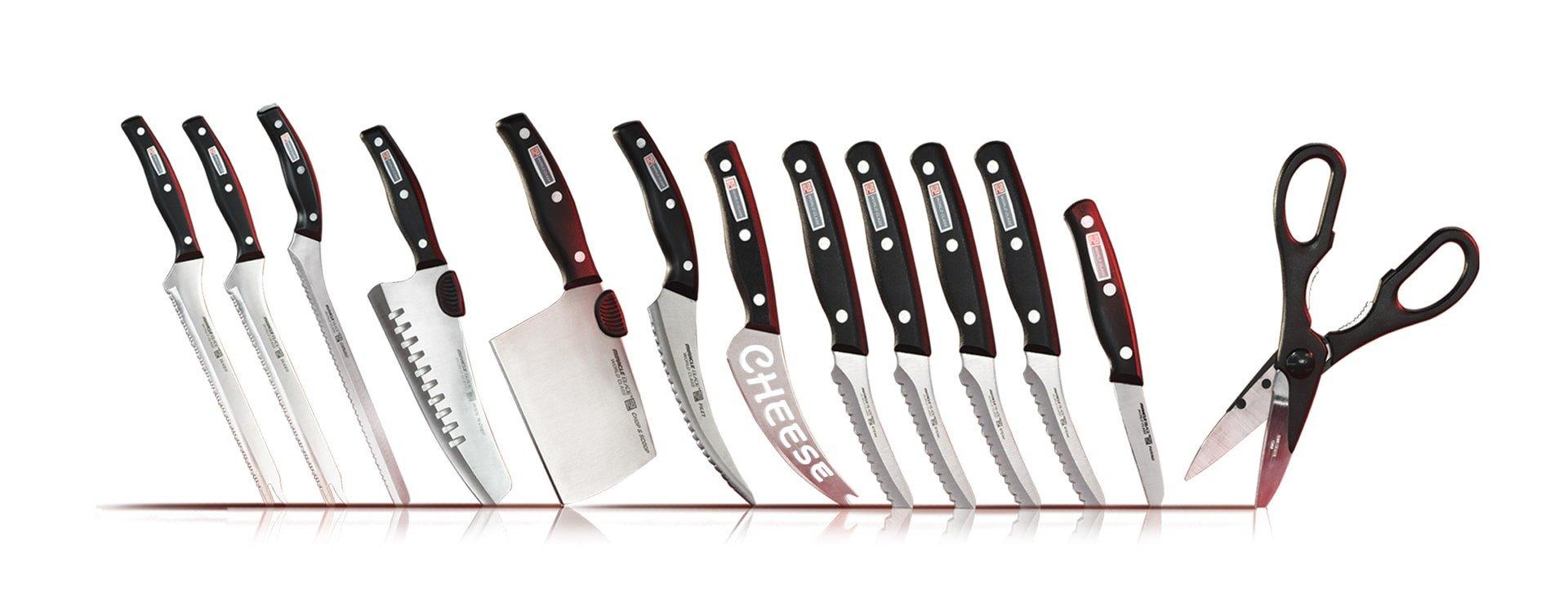 Kuchenne cuda, czyli noże Miracle Blade, które nigdy się nie tępią