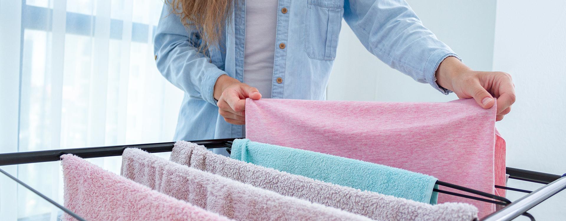 Elektryczna suszarka na pranie na dwa sposoby