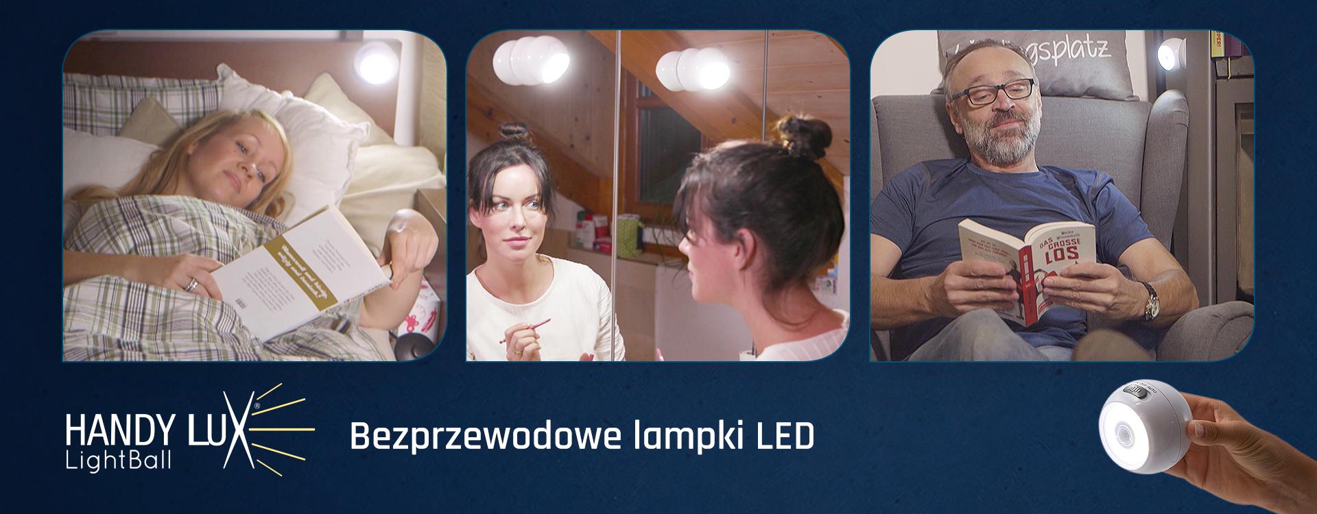 Lampki LED z czujnikiem ruchu i zmierzchu