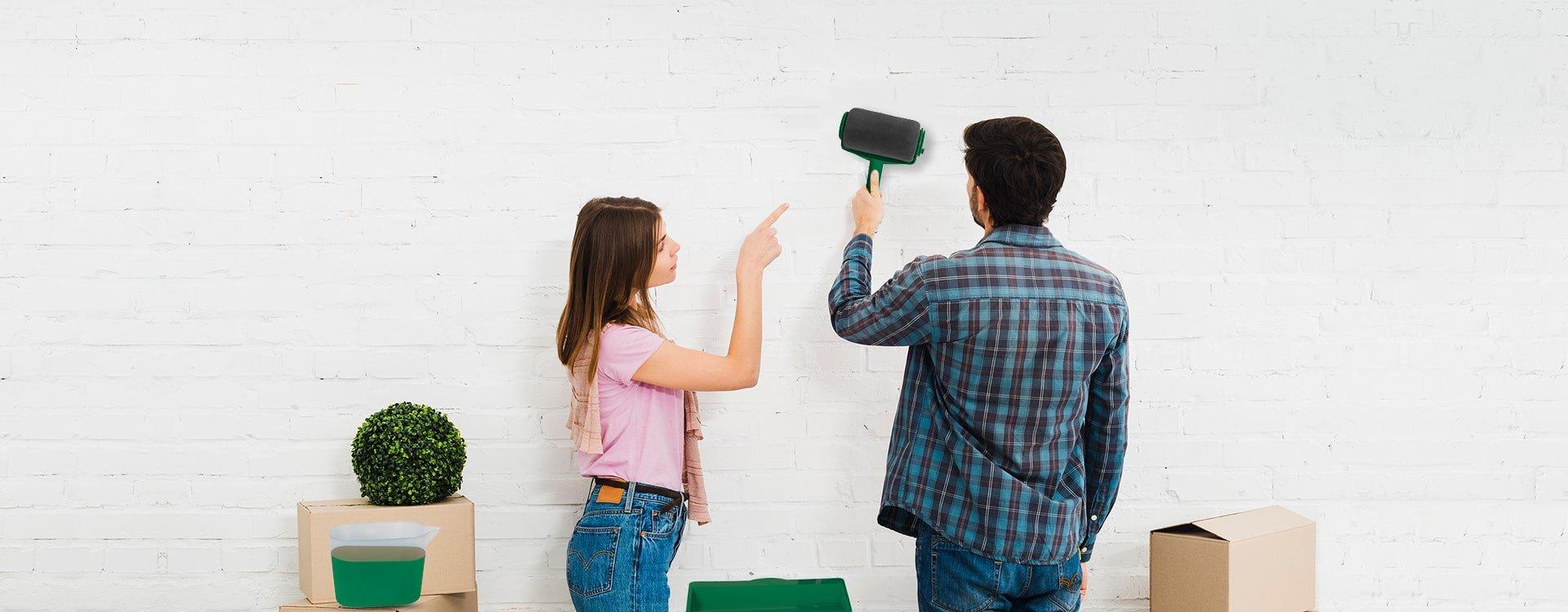 Jak dobrze malować ściany?