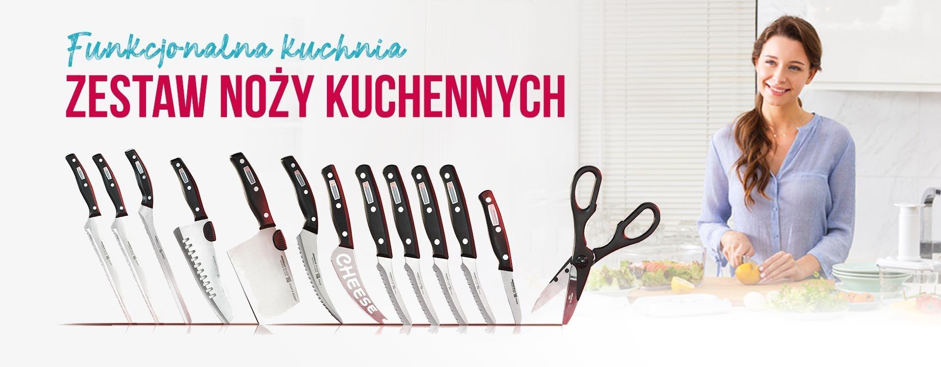 Funkcjonalna kuchnia, jest w zasięgu Twojej ręki! Poznaj niezawodny zestaw noży kuchennych!