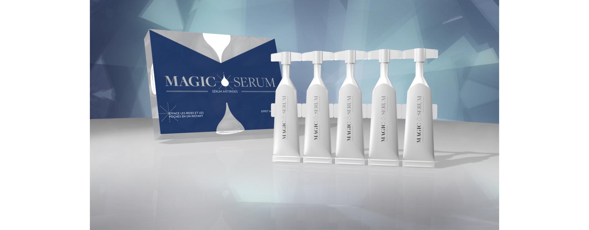 Przeciwzmarszczkowe Magic Serum - niepozorna ulga dla skóry
