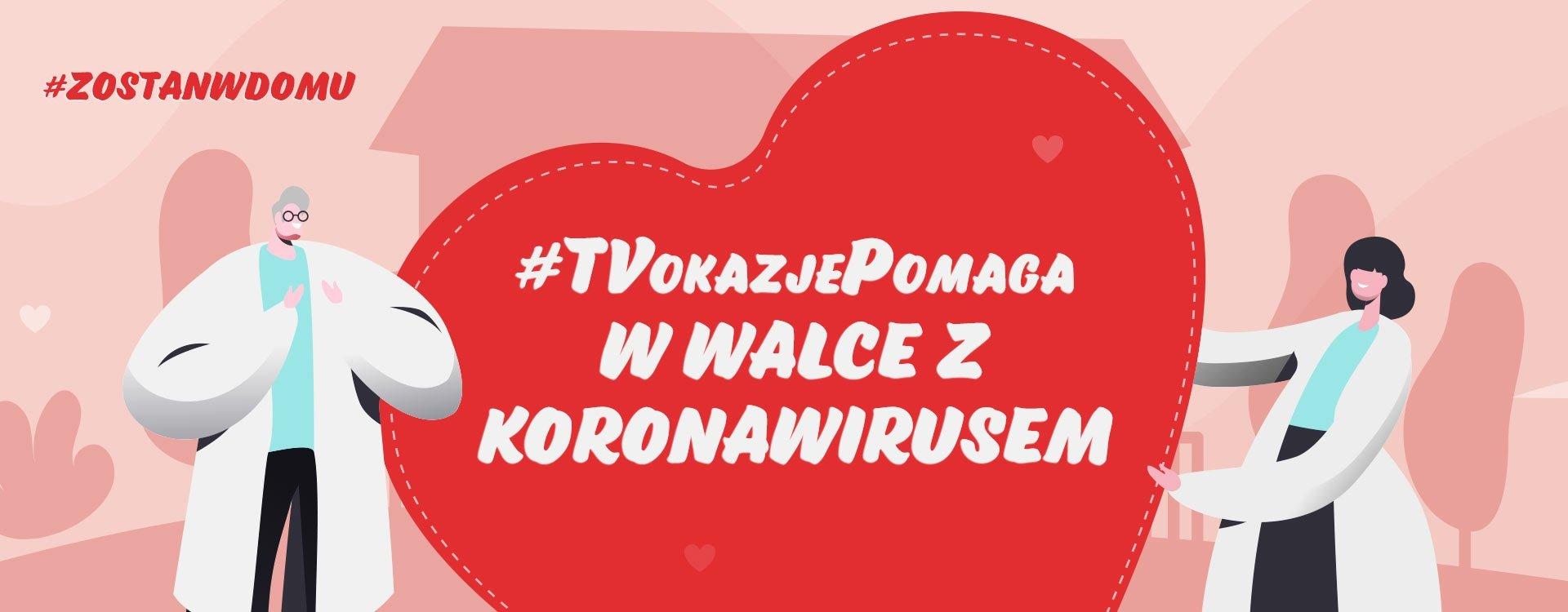 Sprawdź, czego wspólnie dokonaliśmy! Poznaj wyniki akcji #TVOkazjePomaga w walce z koronawirusem