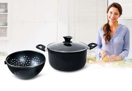 Garnek z durszlakiem - innowacyjny sposób na proste gotowanie