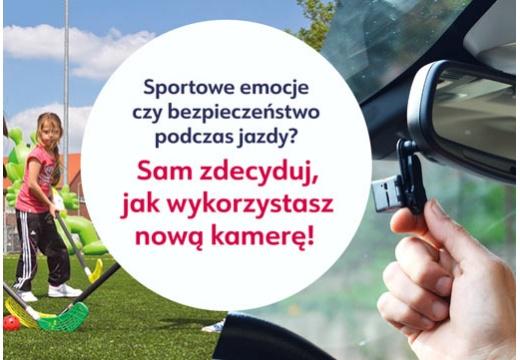 Sportowe emocje czy bezpieczeństwo podczas jazdy? Sam zdecyduj, jak wykorzystasz nową kamerę!