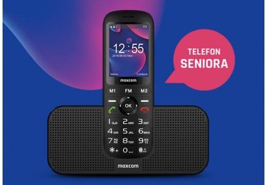 Idealny prezent dla starszej osoby? Oto telefon dla seniora inny niż wszystkie!