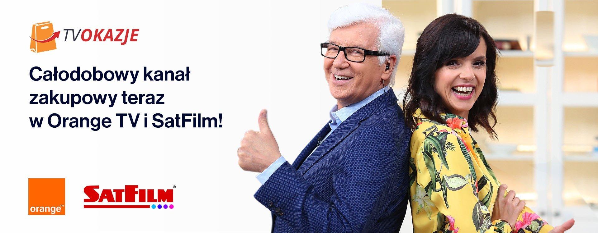 TV Okazje - całodobowy kanał zakupowy teraz w Orange TV i SatFilm!