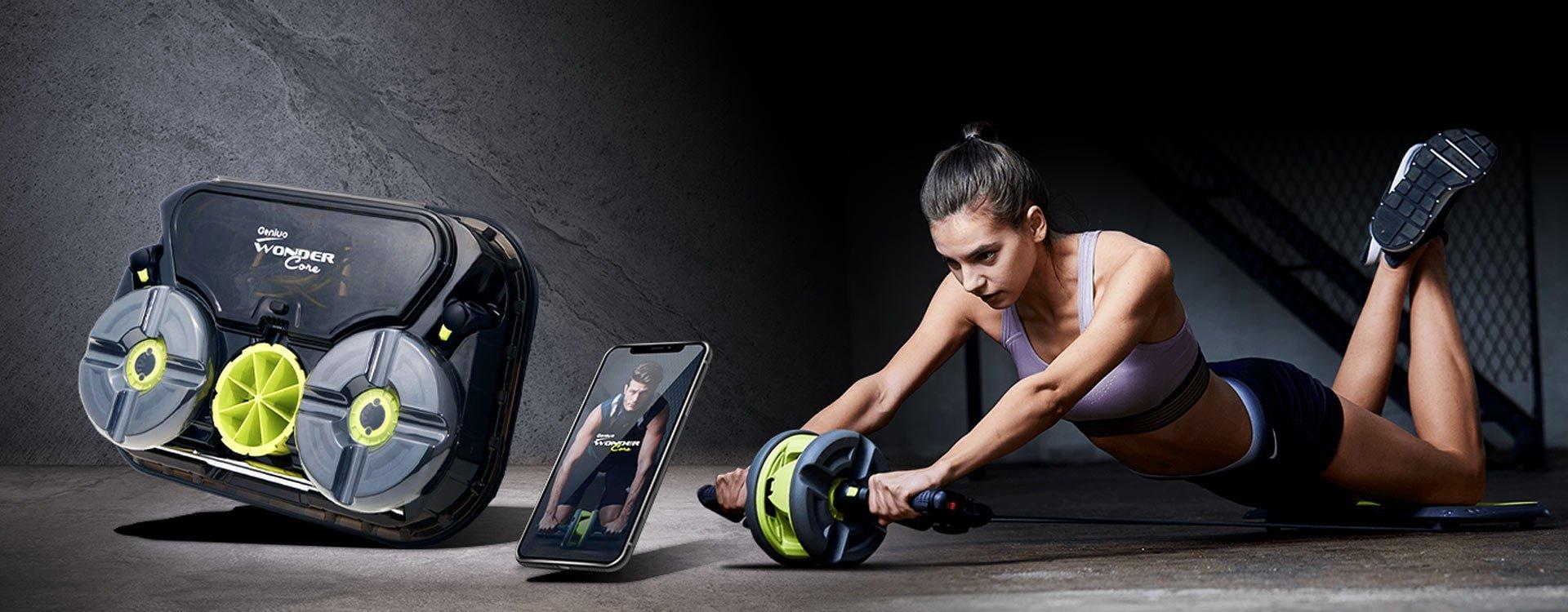 Sprzęt do ćwiczenia w domu i trening w aplikacji to klucz do idealnej sylwetki!